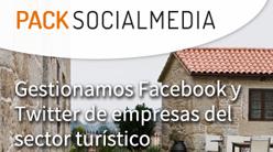 Pack Social Media: Gestionamos Facebook y Twitter de empresas del sector turístico