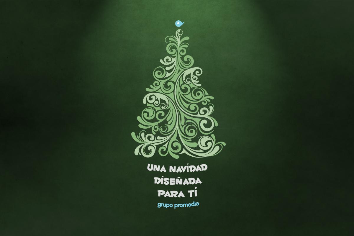 Feliz navidad y próspero año nuevo - Grupo Promedia